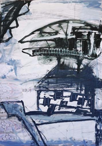 Allmacht / Öl, Acryl auf Leinwand / 130 x 90 cm / 2018