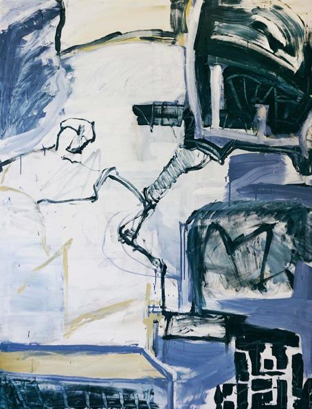 Takt / Öl, Acryl auf Leinwand / 170 x 130 cm / 2018